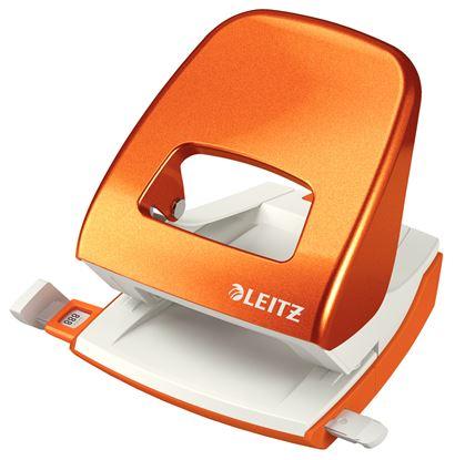 Obrázek Kancelářský děrovač Leitz 5008 - metalická oranžová