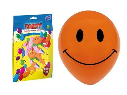 Obrázek Nafukovací balonky - vel. M / 100 ks Smiley