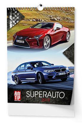 Obrázek Kalendáře nástěnné - Super Auto / BNE0