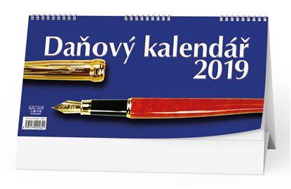 Obrázek Kalendář stolní pracovní DAŇOVÝ - Daňový / BSC1