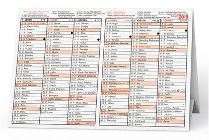 Obrázek Plánovací kalendáře - Stříškový A5 / BKA2