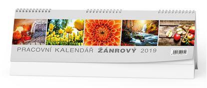 Obrázek Kalendář stolní ŹÁNROVÝ - Žánrový / BSB4