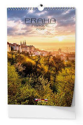 Obrázek Kalendář nástěnný - Praha / BNK1