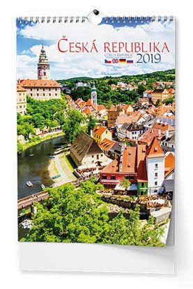 Obrázek Kalendář nástěnný - Česká republika / BNK0