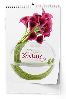 Obrázek Kalendáře nástěnné - Květiny / BNG7