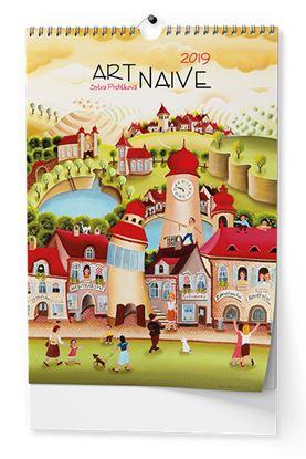 Obrázek Kalendář nástěnný Art Naive - Art Naive / BNG3