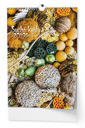 Obrázek Kalendáře nástěnné - Suché květy / BNG9