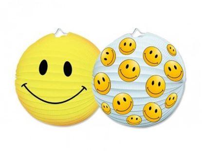 Obrázek Lampiony kulaté 25 cm - Smiley