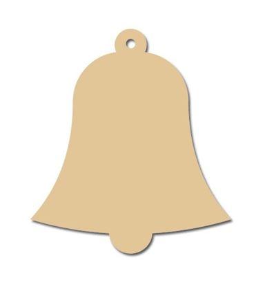 Obrázek Dřevěné výřezy - 5,5 x 6 cm / zvonek