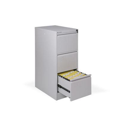 Obrázek Kartotéky kovové -  3 zásuvky