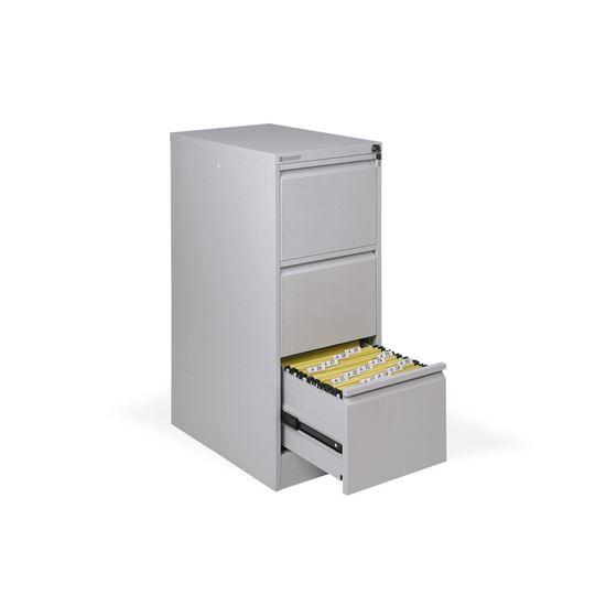 Obrázek z Kartotéky kovové -  3 zásuvky