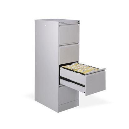 Obrázek Kartotéky kovové -  4 zásuvky