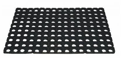Obrázek Gumová rohož -  černá / 40 x 60 cm