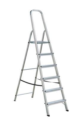 Obrázek Schůdky hliníkové - 6 schodů