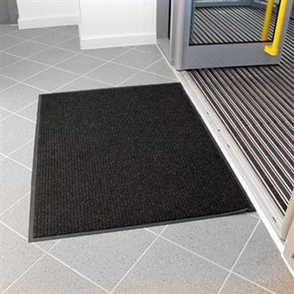 Obrázek Odolná polypropylenová rohož - 90 x 120 cm / černá