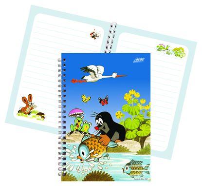 Obrázek Kniha záznamní A5 BOBO - 40 listů / linka