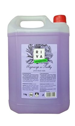 Obrázek RIVA tekuté mýdlo s antibakteriální přísadou 5 l
