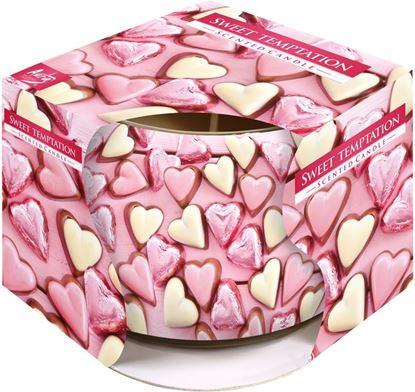 Obrázek Svíčka vonná - srdce