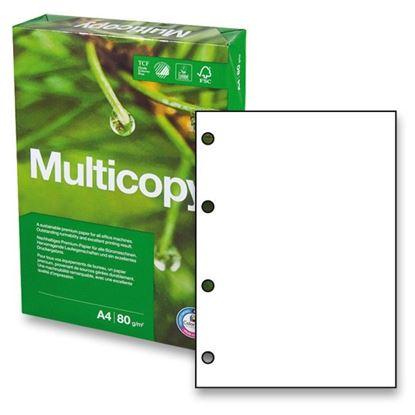 Obrázek Xerografický papír Multicopy - A4 80 g / 500 listů / 4 díry