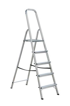 Obrázek Schůdky hliníkové - 5 schodů