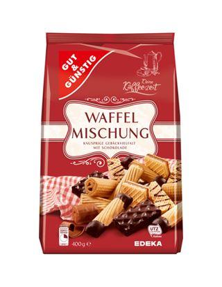 Obrázek Sušenky směs G&G waffel - sladký mix / 400g