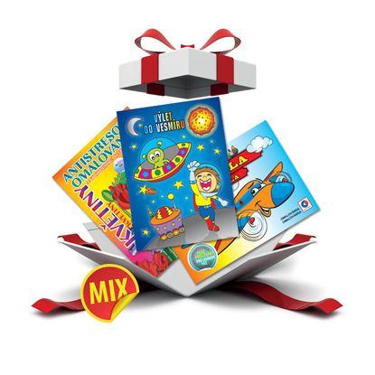 Obrázek Dětské omalovánky - A4 / mix motivů