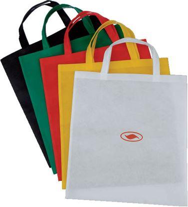 Obrázek Tašky z nekané textilie - 25 x 34,7 cm / barevný mix