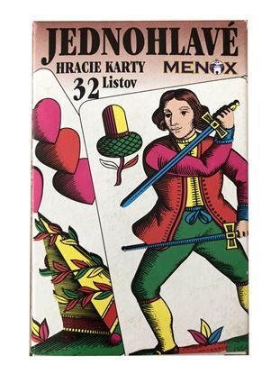 Obrázek Hrací karty - Mariáš / jednohlavé