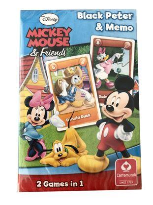 Obrázek Hrací karty - Černý Petr / Mickey Mouse