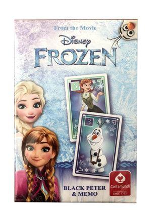 Obrázek Hrací karty - Černý Petr / Frozen
