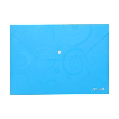 Obrázek Spisové desky DELI Ornament s drukem - A4 / barevný mix