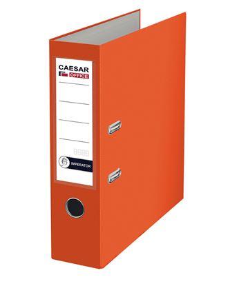 Obrázek Pořadač A4 pákový Imperator - hřbet 7,5 cm / oranžový / C2530