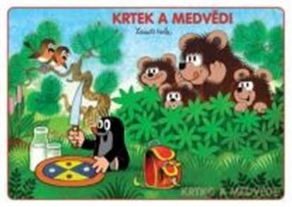 Obrázek Omalovánky A5 - Krtek a medvědi
