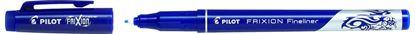 Obrázek Liner Pilot FriXion Fineliner - modrá