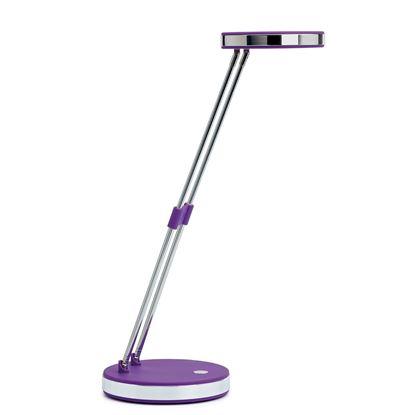 Obrázek Lampa LED MAUL PUCK - fialová