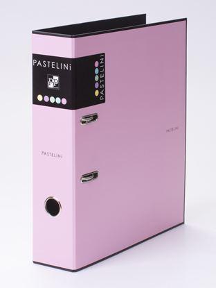 Obrázek KPP pořadač A4 pákový PASTELINI 7 cm růžová