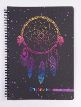 Obrázek Blok kroužkový Romantic Nature A5 Lapač snů