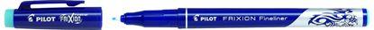 Obrázek Liner Pilot FriXion Fineliner - světle modrá
