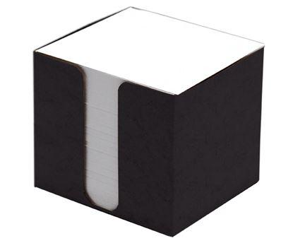 Obrázek Zásobník na záznamní kostky přešpán - černá