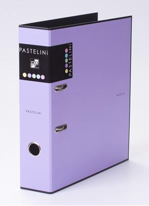 Obrázek KPP pořadač A4 pákový PASTELINI 7 cm fialová