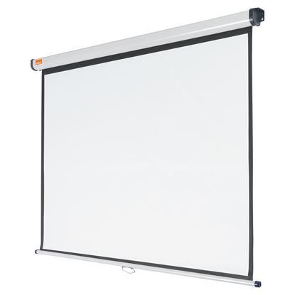Obrázek Plátno projekční 4:3 na zeď - 150 x 113,8 cm