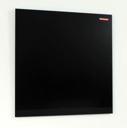 Obrázek Tabule magnetická skleněná Memoboards - 45 x 45 cm / černá