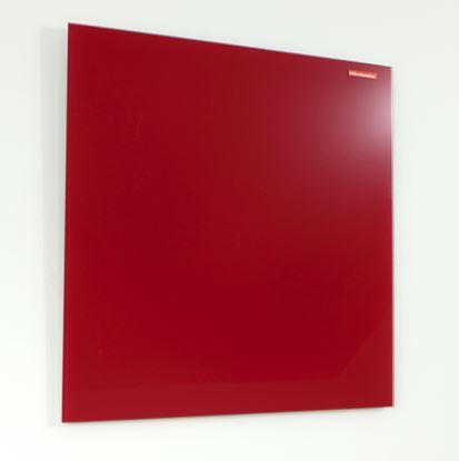 Obrázek Tabule magnetická skleněná Memoboards - 120 x 90 cm / červená