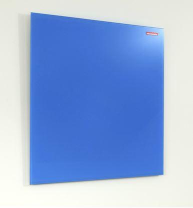 Obrázek Tabule magnetická skleněná Memoboards - 120 x 90 cm / modrá