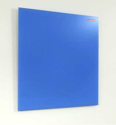 Obrázek Tabule magnetická skleněná Memoboards - 45 x 45 cm / modrá