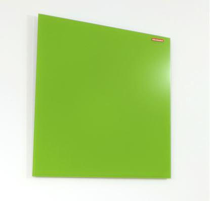 Obrázek Tabule magnetická skleněná Memoboards - 45 x 45 cm / zelená