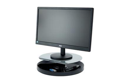 Obrázek Stojan pod monitor Kensington Spin2 otočný - černá