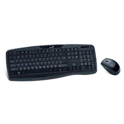 Obrázek Klávesnice Genius multimediální - klávesnice + myš / černá