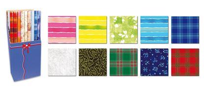 Obrázek Papíry balicí dárkové - 70 x 200 / mix motivů