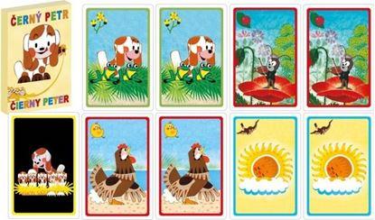 Obrázek Černý Petr karty Štěňátko